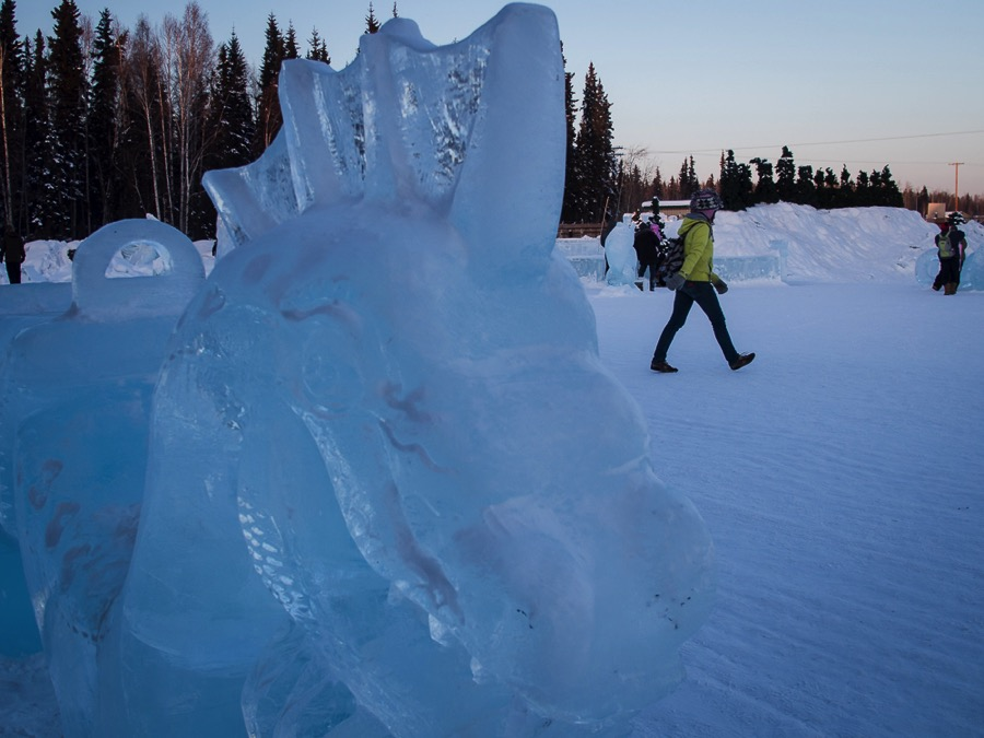 Ice Alaska – the World Ice Carving Championships